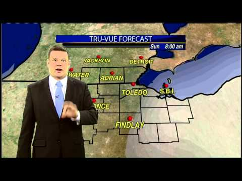 Friday Evening Web Forecast: Warmer, But Expect Snow For Saturday