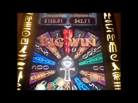 THE MUMMY Max Bet Slot machine Bonuses. Big Win