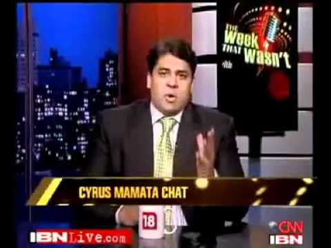 interview of tmc leader mamata banerjee with cyrus!!
