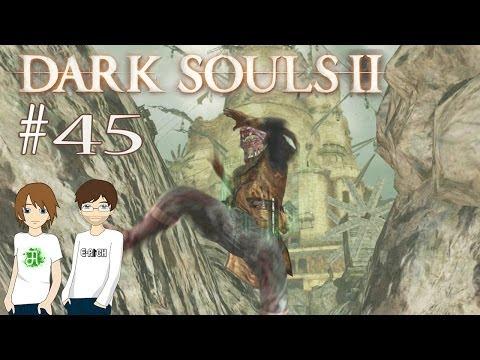 DARK SOULS II #45 - Giftige Einöde [FACECAM] [HD]   Let's Play Dark Souls 2