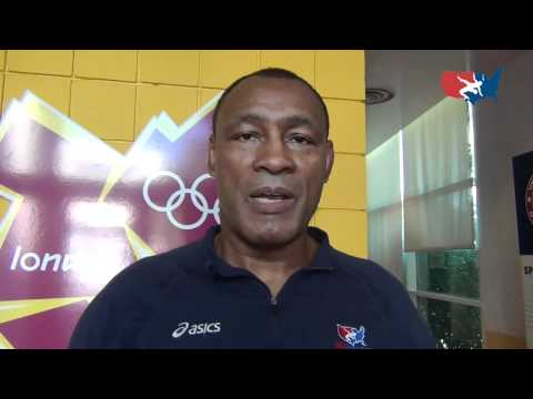 Olympic coach James Johnson talks about Olympic assignment and Greco team training Image 1