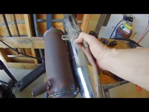 Learning to Weld - Coleman Powermate Generator Exhaust Mods Part 2