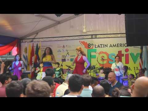 Colombian Singer at the 8th Latin American Festival in Malaysia (Video 11 of 12)