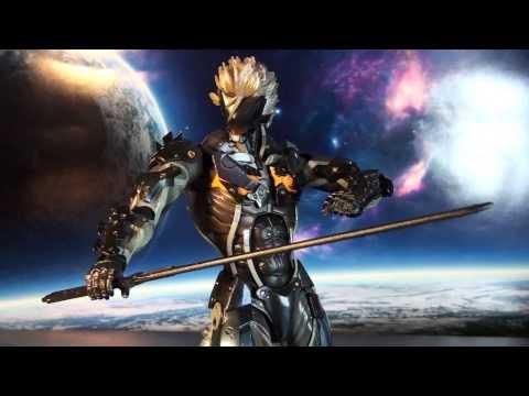 R282 Square Enix Play Arts Kai Metal Gear Rising Revengeance Raiden Review