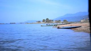 Ncig Saib pa dej tauv ຂີ່ເຮືອຊົມວິວ ອ່າງນ້ຳງື່ມ  ride boat to tour view namnguem