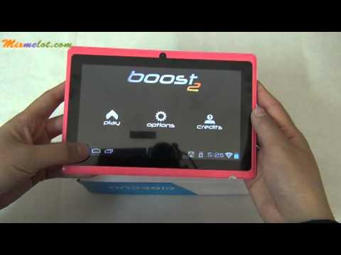 Q88++ 4GB Allwinner A13 DDR3 512MB 7inch Android 4.0 Dual Camera Tablet PC