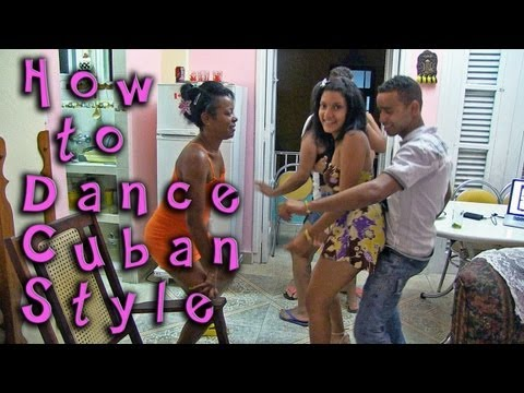 Cuban Style Dancing, How to