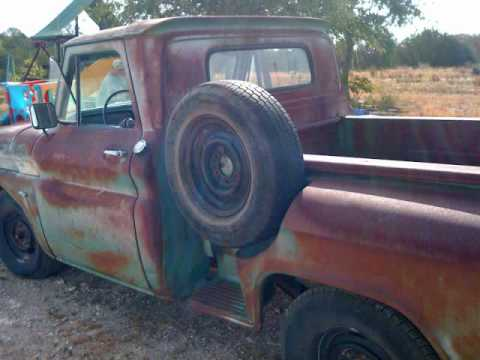 Rusty Old American Dream: 1964 Chevy Truck: Thanks to David Wilcox for the great tune! .wmv