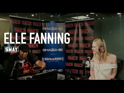 Elle Fanning Gives Advice To Young Actors + Discusses New Movie + Reaches in Sway's Mystery Sack