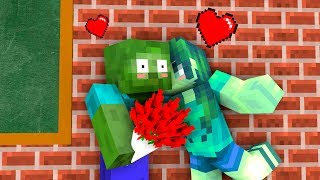 Monster School: Valentine's Day - Minecraft Animation