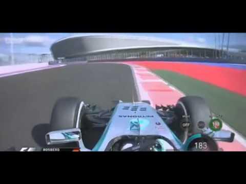 F1 2014 - Rosberg Onboard Lap Sochi[HD]