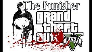 GTA 5 - O Justiceiro invadindo predio cheio de bandidos  (The Punisher - Netflix)