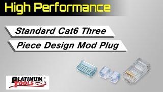 Standard Cat6 High Performance Connectors
