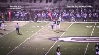 2014 Game Nine: Granite Bay vs Rocklin, SFL League game highlights