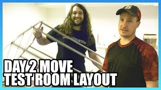 Day 2 Move & Test Room Build: GN Moving Vlog, Part 3