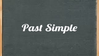Past Simple Tense - English grammar tutorial video lesson