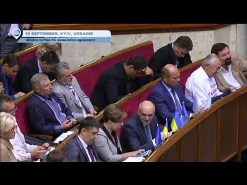 Ukraine and EU Seal Landmark Deal: Ukrainian and European Parliaments Ratify Association Agreement