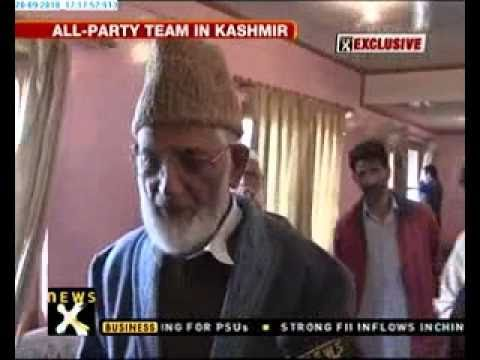 Leaders meet  Syed Ali Shah Geelani
