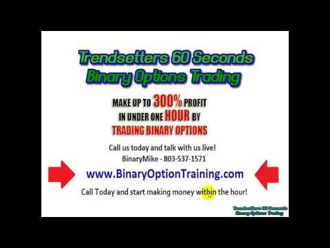 Making money with 60 second binary options