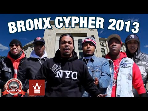 KsharkTV Presents: Chris Rivers aka Baby Pun (Son Of Big Pun), D-One, Rambo & Billz, Whispers & Denzil Porter - Best Of Bronx Cypher [User Submitted]