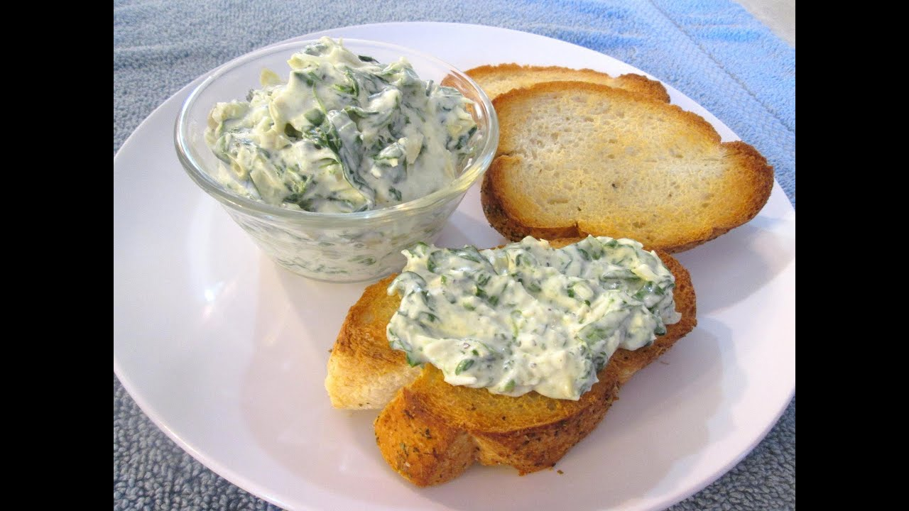 Spinach Artichoke Dip With Chips Spinach And Artichoke Dip