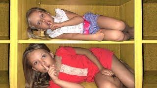 Alice Plays Hide and Seek with Baby Shark song / Дети играют в прятки by Ya Alisa