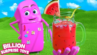 Robo Fridge Song | BST Kids Songs & Nursery Rhymes