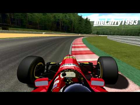 GOD, LISTEN TO THIS SOUND !!! Gerhard Berger enjoys this song while forcing his V12-Ferrari around the Curcuit in Spa. Mod: F1 1994 by F1-SR Track: Spa-Franc...