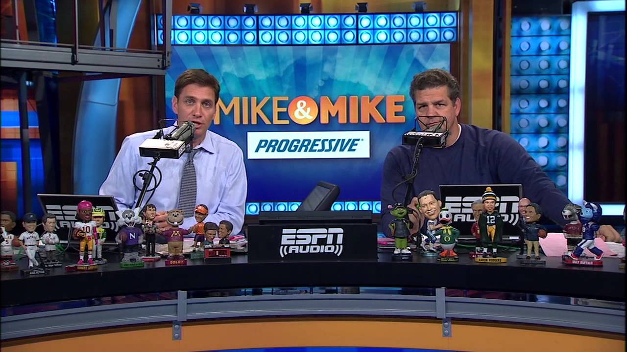 espn 39 s mike and mike in the morning show is coming to. Black Bedroom Furniture Sets. Home Design Ideas
