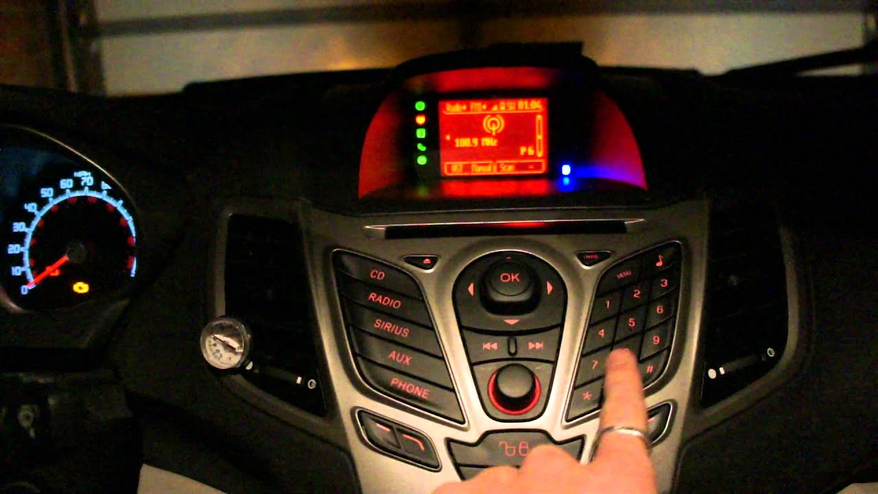 2012 Ford Fiesta Audio System Test Youtube
