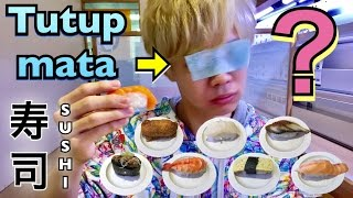 Challenge Tebak Rasa Sushi di GENKI SUSHI!! 目隠し寿司当てチャレンジ!