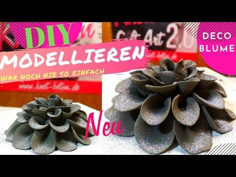 Kreative Deko Ideen DIY. Selbstgemachte Geschenke, Einfach! Mit Knetbeton 2.0 Soft Art ❣️