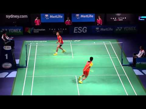 2014 THE STAR AUSTRALIAN BADMINTON OPEN-SF-MS- Tian Houwei (CHN) VS Lin Dan (CHN)