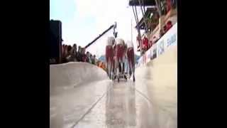 Bobsleigh Speed record 153 KPH