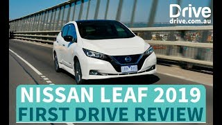 Nissan Leaf 2019 First Drive Review | Drive.com.au