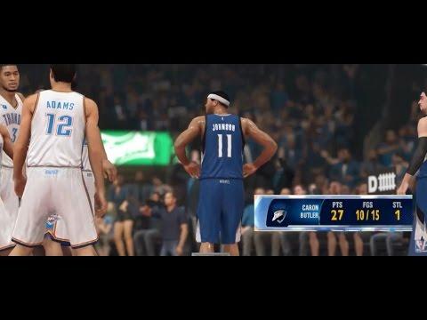 NBA 2K14 PS4 MyCareer Playoffs QFG2 - Caron Butler Is OP!!