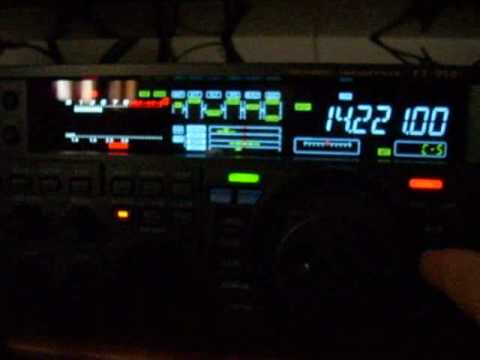 FW5RE on 20m SSB operation