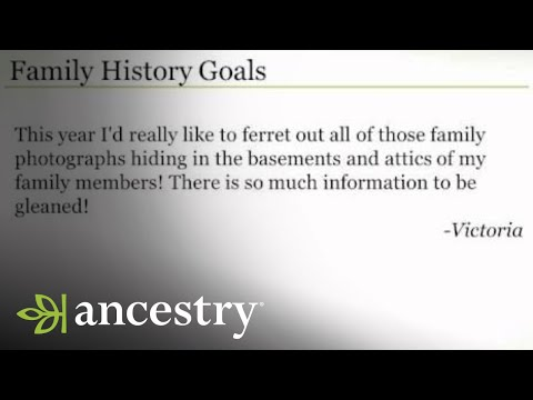 Family History Goals for 2014