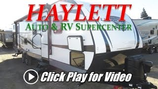 HaylettRV - 2018 Open Range 3110BH Ultralite Bath Entry Outside Kitchen Bunkhouse Travel Trailer