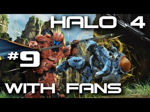 Halo 4 Fan Game Night + Facecam w/ Kootra & Ze Part 9
