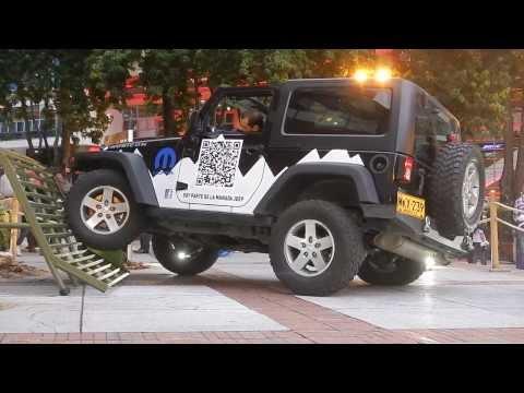 Prueba Jeep Wrangler :: Bogotá 20-12-2013
