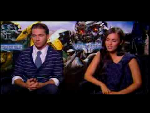 shia labeouf and megan fox kissing scene. Shia LaBeouf amp; Megan Fox Talk