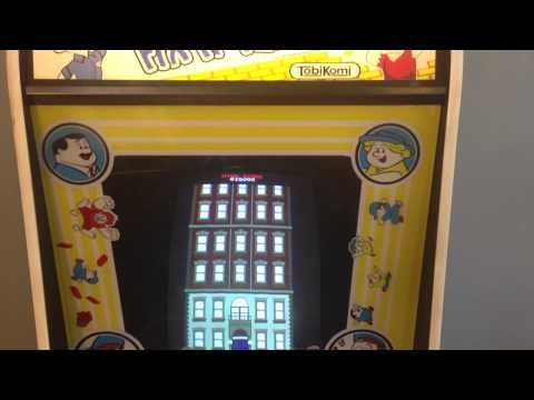 Fix It Felix Jr arcade cabinet at home
