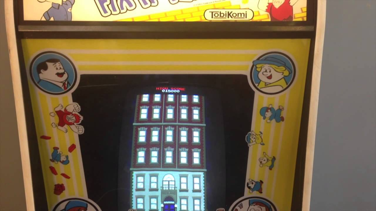 Fix It Felix Jr Arcade Machine Fix It Felix Jr arcade...
