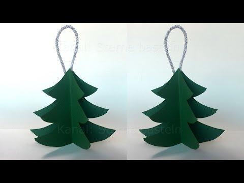 weihnachten basteln diy weihnachtsbaum falten weihnachtsdeko weihnachtsschmuck. Black Bedroom Furniture Sets. Home Design Ideas