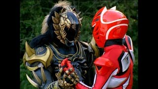 Power Rangers Jungle Fury - Arise the Crystal Eyes - Red Ranger vs Dai Shi (Episode 22)