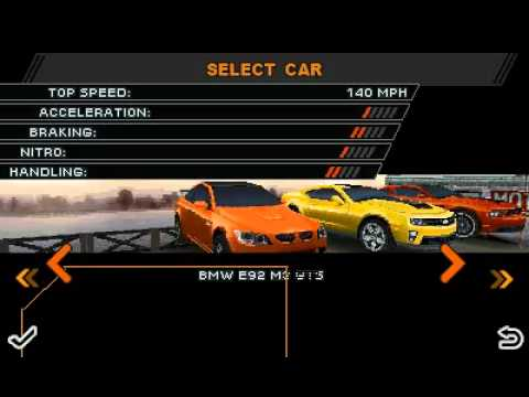 Need For Speed the RUN [JAVA touch]