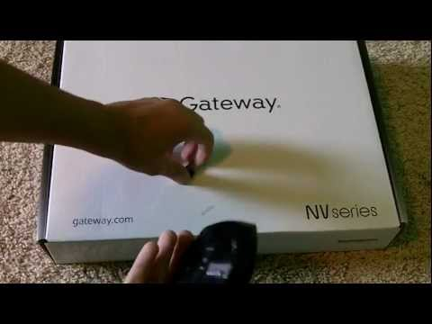 Gateway NV57H i5 intell Laptop unboxing