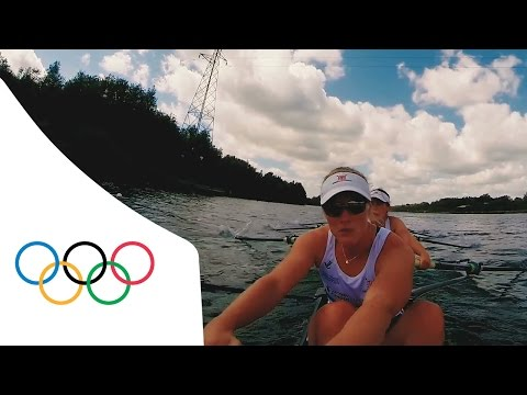 POV Rowing with Great Britain Women's Eight | Rowing Week