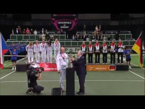 2014 Fed Cup Final | Highlights Petra Kvitova (CZE) v Angelique Kerber (GER)